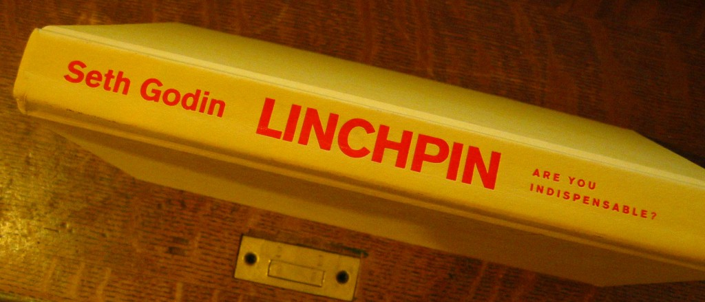 Photo of Linchpin book saddle